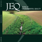Image showing the cover of a special edition of the Journal of Environmental Quality
